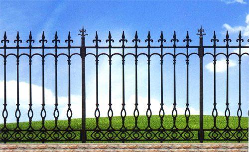 欧式c-铸铁围墙|铸铁围栏|铸铁栏杆|铁艺围墙|玛钢图片